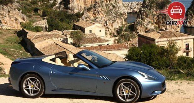 Ferrari California T Side View