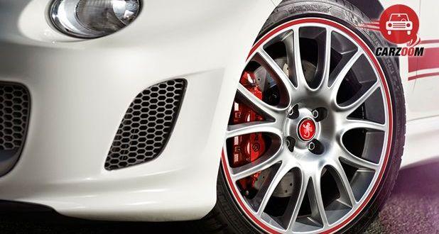 Fiat Abarth 595 Competizione Tyre View