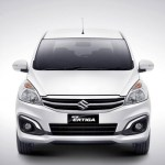 Maruti Suzuki Ertiga Facelift Exterior Front View