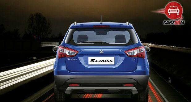 Maruti Suzuki S Cross Exterior Back View