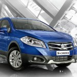 Maruti Suzuki S Cross Front Side View