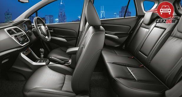 Maruti Suzuki S Cross Interior Seat View