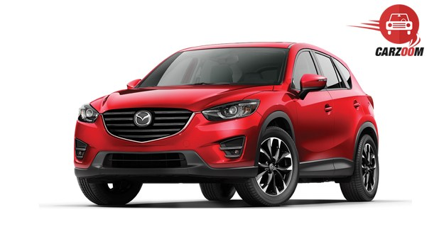 Mazda CX-5 Exterior Side and Front View