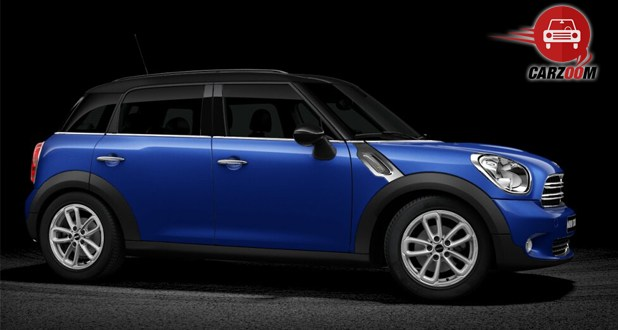 Mini Cooper D Countryman Exterior Side View