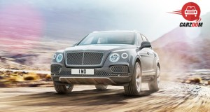 Bentley Bentayga Exterior Front View