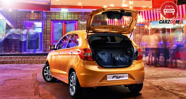 Ford Figo Boot Space View