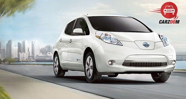 Nissan Leaf Exterior View
