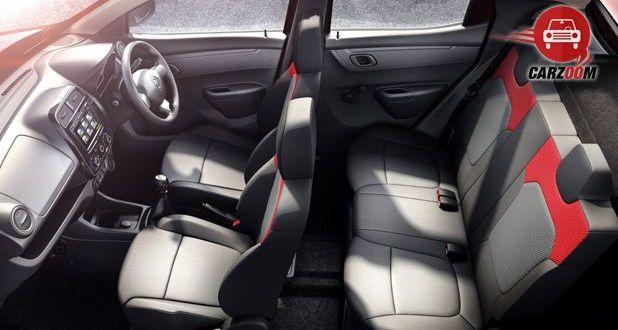 Renault KWID Interior Seat view