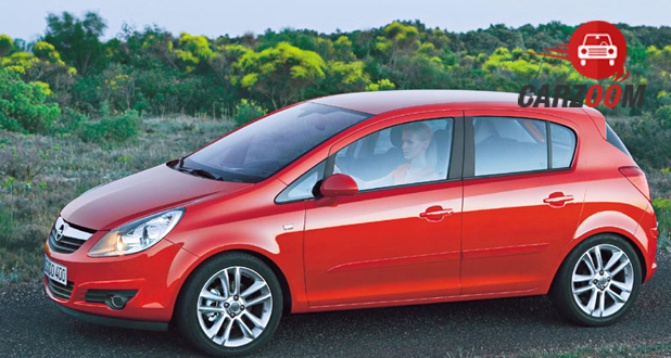 Vauxhall Corsa Exterior Side View