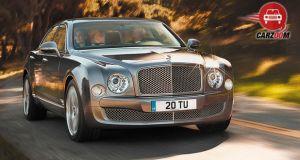 Bentley Mulsanne Exterior Front View