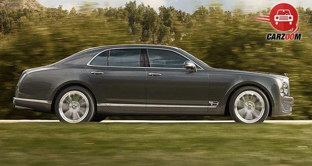 Bentley Mulsanne Exterior Side View