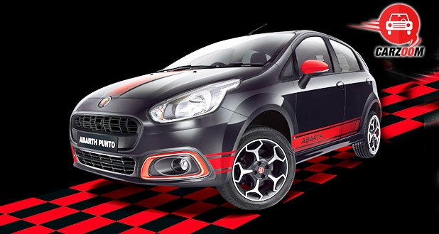 Fiat Abarth Punto Exterior Front and Side View