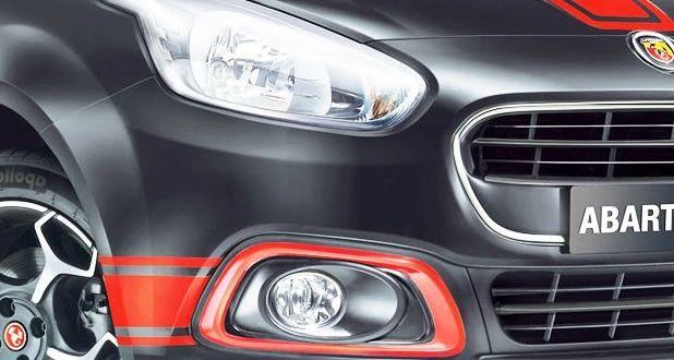 Fiat Abarth Punto Headlight View