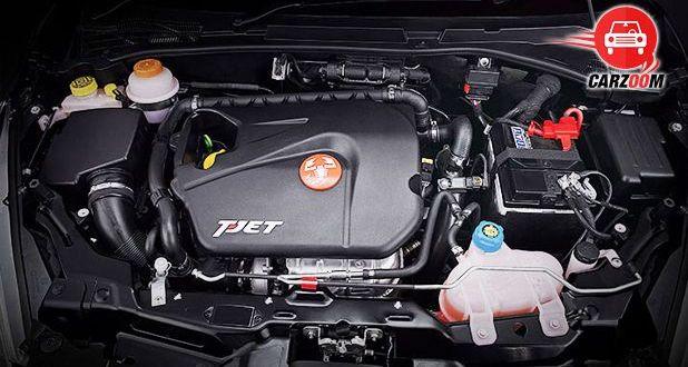 Fiat Abarth Punto Interior Engine View