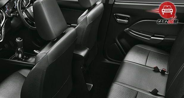 Maruti Suzuki Baleno Interior Seat View