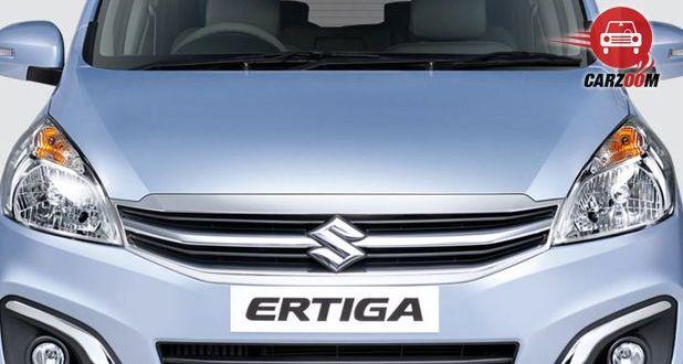 Maruti Suzuki Ertiga Facelift Bumper View