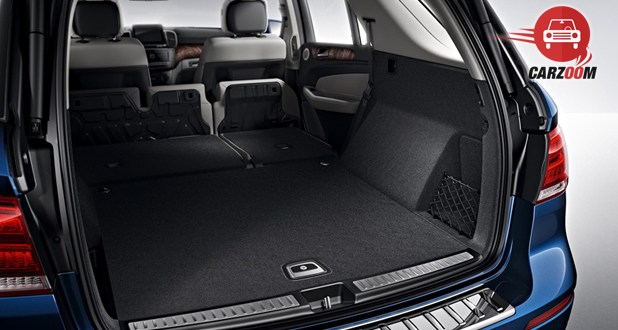 Mercedes-Benz GLE Boot Space