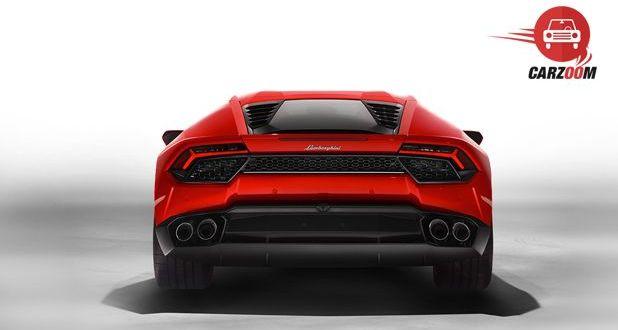 Lamborghini Huracan LP 580 2 Back View