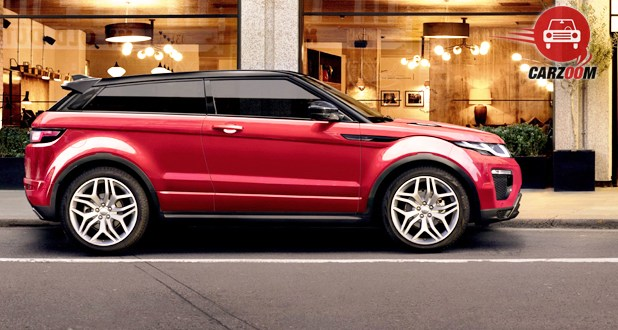Land Rover Range Rover Evoque Facelift Side View
