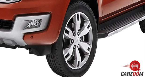 Ford Endeavour Tyre