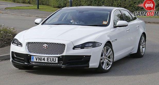 Jaguar XJ Facelift Front