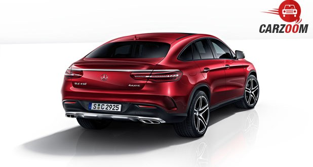 Mercedes-Benz GLE Class 450 AMG Coupe Back