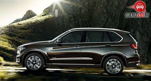 2016 BMW X5 Side View