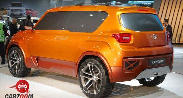 Hyundai Carleno Back View