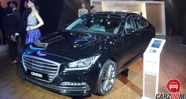 Hyundai Genesis Front View