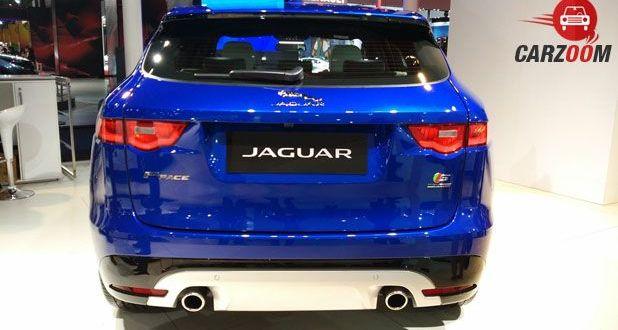 Jaguar F Pace Back
