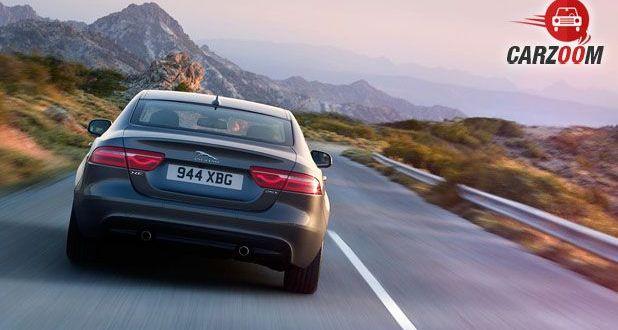 Jaguar XE Back