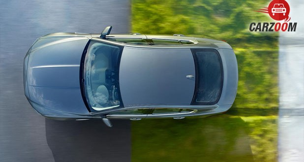 Jaguar XE Top View