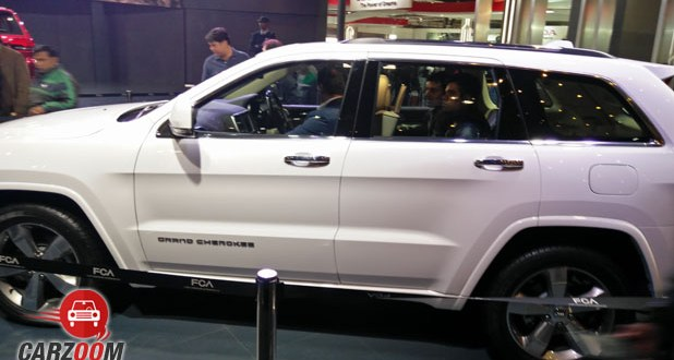 Jeep Grand Cherokee Side