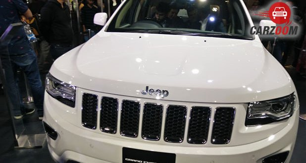 Auto Expo 2016: Jeep Grand Cherokee