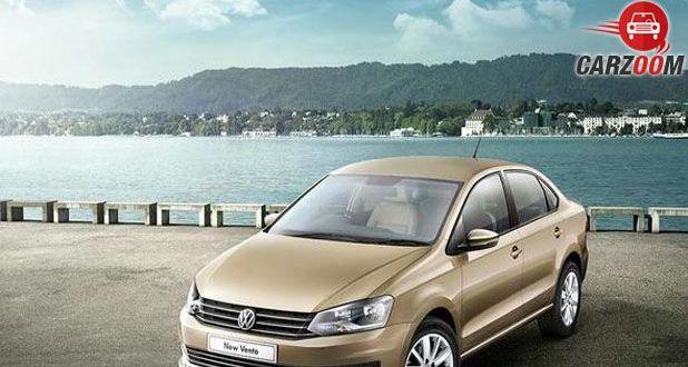 Volkswagen New Vento Front