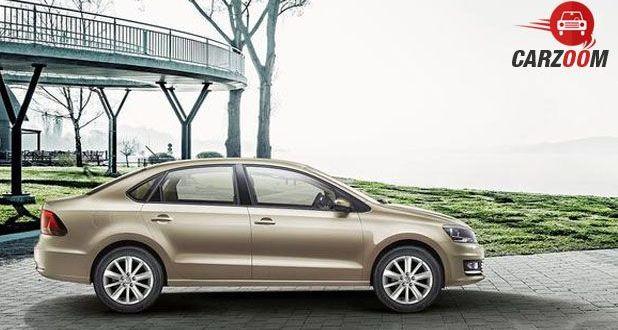 Volkswagen New Vento Side