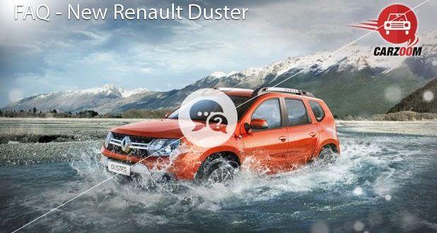 FAQ New Renault Duster