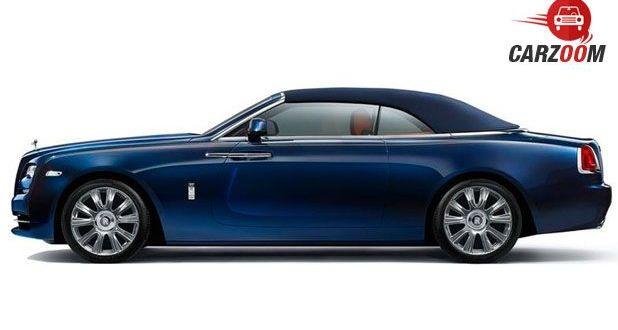Rolls-Royce Dawn Side View