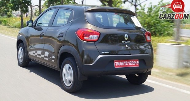 Renault Kwid 1.0L Back View