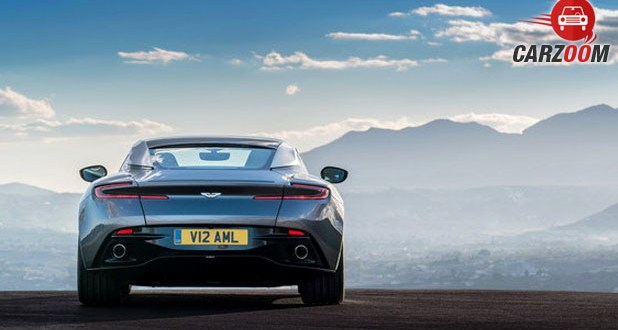 Aston Martin DB11 Back