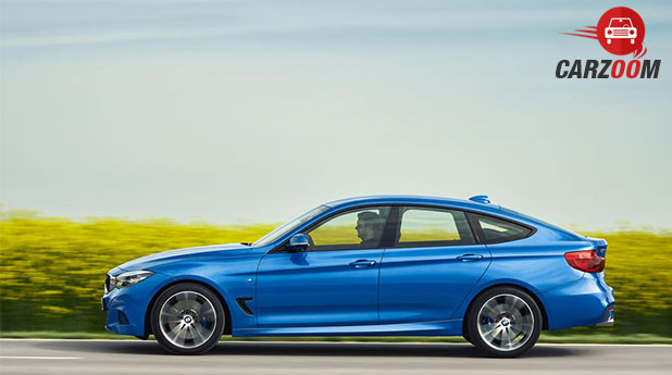 BMW 3 series Gran Turismo facelift Side View