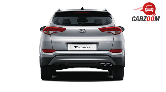Hyundai Tucson Back View