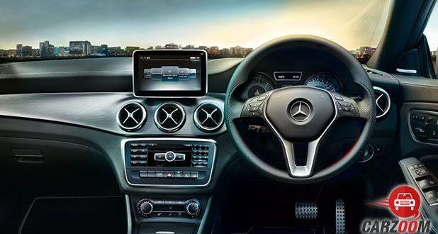 Mercedes-Benz CLA Interioir