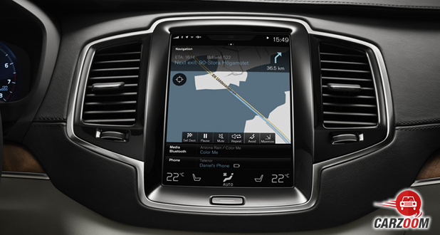 volvo v40 cross country Interiors View