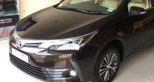 new corolla altis video all kijang innova g mt 2017 toyota facelift india walkaround