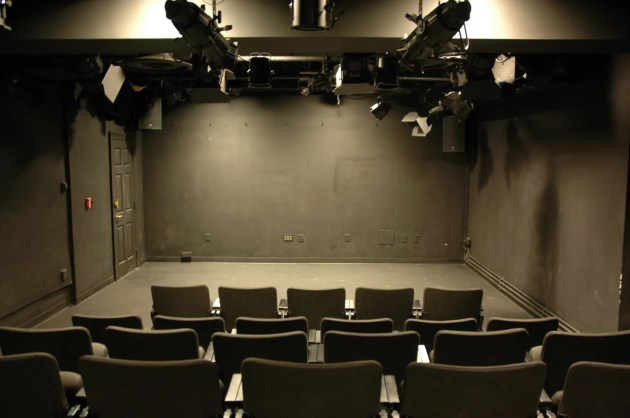 Studio 115 is a black box theatre in duPont Hall