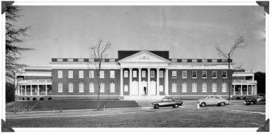 duPont Hall, 1952