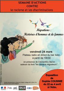 SOIRÉE RENCONTRE - MIGRATIONS : HISTOIRE DE FEMMES ET D'HOMMES @ Aiôn | La Rochelle | Nouvelle-Aquitaine | France