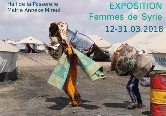 Expo photos sur les femmes en Syrie