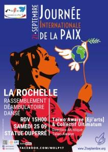 Marche pour la Paix @ statue Duperré | La Rochelle | Nouvelle-Aquitaine | France
